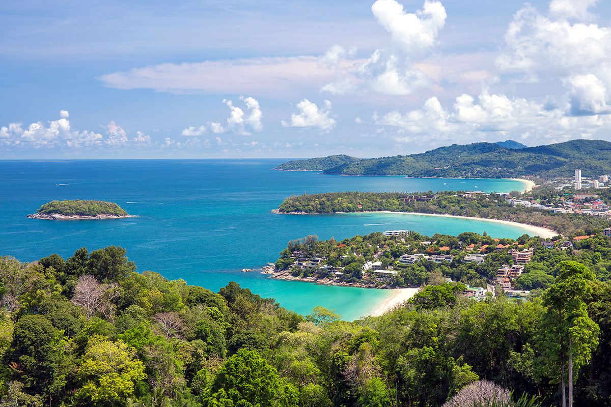 Phuket attractions-Thailand-Kata View Point